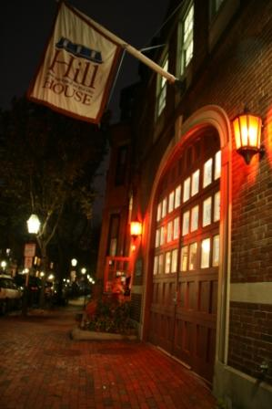 Firehouse at Night and Parents Night Out calendar image